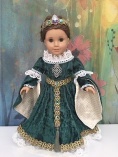 American Girl Custom OOAK Medieval Celtic Renaissance Princess