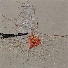 "My piece titled ""Wrinkle Embroidery VIII (The Fallen Stars… 