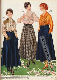Katalog: National Cloak & Suit Co. 1930s Fashion, Edwardian Fashion, Teen Fashion, Vintage Fashion, Steampunk Fashion, French Fashion, Gothic Fashion, Ladies Fashion, Vintage Vogue