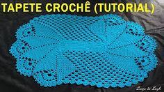 como fazer tapete de croche para iniciantes - YouTube
