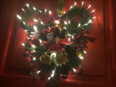 My Disney wreath I made ..