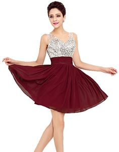 Eudolah Women's Short Chiffon Brightly Sequins Homecoming/Prom Dresses Wine Size 8 Eudolah http://www.amazon.com/dp/B016EZ96L8/ref=cm_sw_r_pi_dp_KZ0Vwb1FY4A30