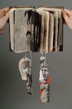 The Library of Lost Books: Wednesday Wonder No 6....   | libro de artista...