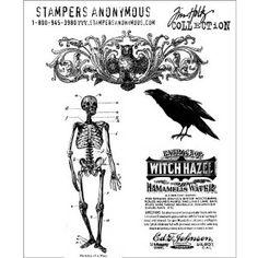 Haunted Mansion Stamp Set