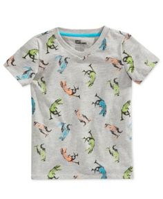 Epic Threads Little Boys' Dinosaur-Print T-Shirt, Only at Macy's