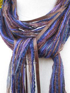 Ribbon scarf