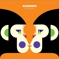 Malika Favre & Benjamin Grillon, 2013, Album and EP covers for Scanners upcoming Album Love is Symmetry.