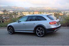 Silver Audi Allroad                                                                                                                                                                                 More