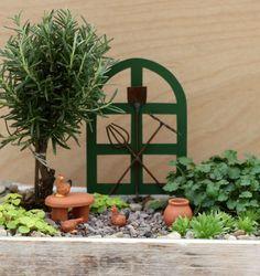 Tiny Garden - Miniature Free Range Chickens