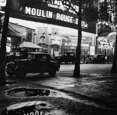 Roger Schall, Le Moulin Rouge, Paris, 1930, Photographie