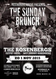 Restaurant Mauve presenteert – The Sunday Brunch