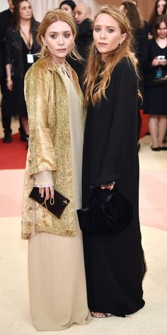 See All the Best Looks from the 2016 Met Gala Red Carpet - Ashley Olsen and Mary-Kate Olsen  - from InStyle.com