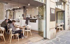 Дизайн интерьера кафе Coutume от студии CUT