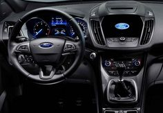2017 Ford Kuga - interior