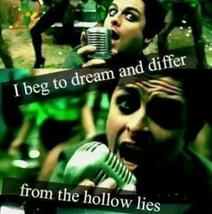 "Green Day ""this is the dawning of the rest of our lives...on holiday"""