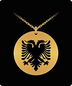 Albanian Eagle Necklace - Gold Palted/Stainless Steel Engraved Pendant - Great Gift Charm For Men and Woman ** Continue to the sponsored product at the image link. Cat Health Care, Cat Grooming, Amazon Art, 18k Gold, Sewing Crafts, Great Gifts, Image Link, Eagle, Charmed