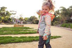 Tammie Hoodie and Glitter Chubba Jean - Big, Oishi-m Clothing for kids, Spring 2015, www.oishi-m.com