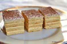 Prajitura cu crema caramel si foi cu miere - Dobos Englezesc. O reteta veche de prajitura cu foi fragede umplute cu o crema fina de unt cu zahar ars caramel
