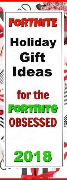 Fortnite Holiday Gift Ideas for the Fornite Obsessed friends and family members!  We've got the best and most wished for Fortnite Christmas Gift Ideas for all those Fortnite Gamers on your Holiday Shopping List!  These are the perfect gifts for your co-wo