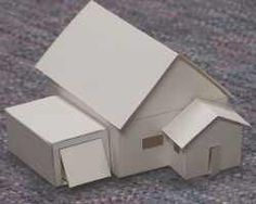 How to make paper houses.. There are templates on this site also