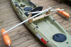 """The main drawback most anglers accept when fishing from a kayak is reduced visibility, due to the need to sit rather than stand. Having the ability to stand and """"sight fish"""" is important with cert… Kayak Fishing Gear, Kayak Fishing Accessories, Canoe And Kayak, Fishing Boats, Boat Accessories, Survival Fishing, Fishing Lures, Ocean Kayak, Fishing Trips"""