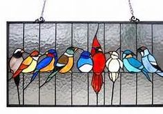 birds stained glass patterns - Bing Images