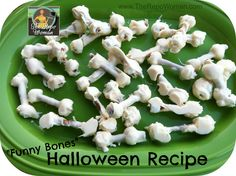 Halloween Recipe Funny Bones @Matty Chuah Repo Woman