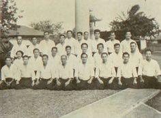"Aikido Hawaii Instructors, from the 1959 book ""Aikido"", by Koichi Tohei"