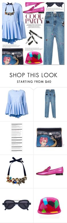 """""""TGIF"""" by bibibaubau ❤ liked on Polyvore featuring Milly, Ground-Zero, Arche, Charlotte Olympia, MANGO, Topshop, Kuboraum, Laura Apsit Livens, Crate and Barrel and friday"""