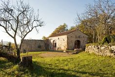 Rescuing an old stone farmhouse in France required a dig through layers of junk and concrete. Old Stone, Old Barns, Maine House, Woodstock, Ny Times, Knock Knock, Interior And Exterior, Mansions, Architecture