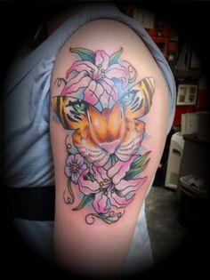 Tiger Butterfly Tattoo Designs tattoo designs tattooing tattoos ...