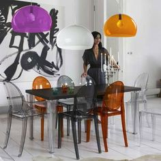 play with colors fly by ferruccio laviani and victoria ghost by philippe starck battery ferruccio laviani wireless