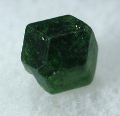 Chromium Uvite Tourmaline Crystal Burma Mineral by BandLMinerals