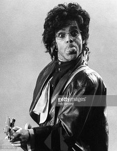 Prince performs on stage on the Sign of the Times Tour at Ahoy Rotterdam Netherlands 26th June 1987