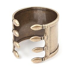 Small Brass Cage Cuff