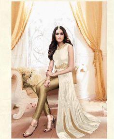 Stylish Banarasi Silk Dress