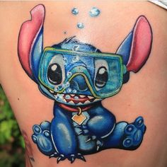 Another Stitch tattoo by @bartosz_krawczynski! #disney #disneyland #disneyworld #disneyinkfiends #waltdisney #waltdisneytattoo #liloandstitch #liloandstitchtattoo #stitch #stitchtattoo