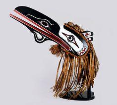 Raven Hamaisa Headdress by Donald Svanvik, Kwakwaka'wakw artist (X150702)