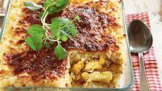 Broileri-riisigratiini Lasagna, Ethnic Recipes, Food, Meal, Essen, Lasagne