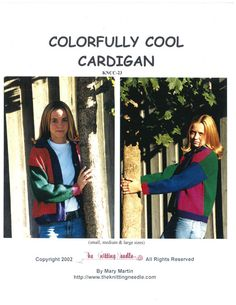 Colorfully Cool Cardigan - The Knitting Needle KNCC-23