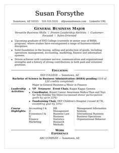 for college students - College Student Resume Examples