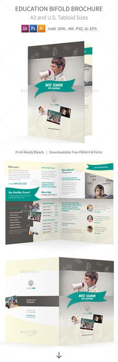 Multipurpose Bi-Fold Pricelist Designs Brochures, Brochure - half fold brochure template