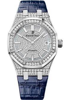 Audemars Piguet - Royal Oak Self Winding 37mm - White Gold Watch 15452BC.ZZ.D019CR.01