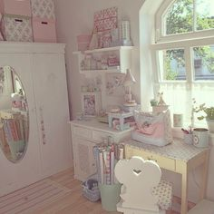 Casinha colorida: Home Tour: Cottage e Shabby Chic