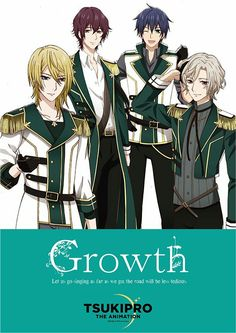 Growth in the new Tsukipro anime!! So hyped for it to come out <3