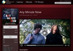 Any Minute Now being distributed by Continuum Motion Pictures on the Sony Entertainment Network. Great job Continuum and eOne