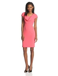 Anne Klein Women's Sleeveless Cowl Neck Suit Dress, Coral... https://smile.amazon.com/dp/B00J0242TO/ref=cm_sw_r_pi_dp_x_SSr5xbF5KB2C2