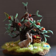 seasonal tree for natural table summer by daria.lvovsky