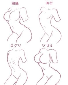 Drawing The Human Figure - Tips For Beginners - Drawing On Demand Body Reference, Anatomy Reference, Design Reference, Drawing Reference, Female Drawing, Human Drawing, Manga Drawing, Drawing Techniques, Drawing Tips