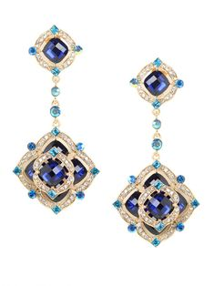 Positively Dazzling... our Azure Rose Drops